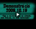 2009.10.19. Demonstráció - Összefoglaló anyag (2010.01.19.)