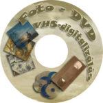 Fotó-DVD készítés , VHS kazetták digitalizálása