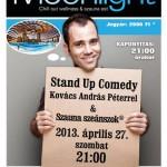 Stand up comedy és szauna est az Aquaworldben
