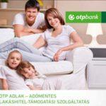 Tájékoztató, OTP adómentes adlak – adómentes lakáshitel-támogatási szolgáltatás