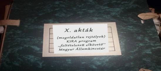 x akták