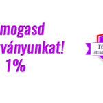 Adód 1%-val támogasd a Töréspont Alapítványt!